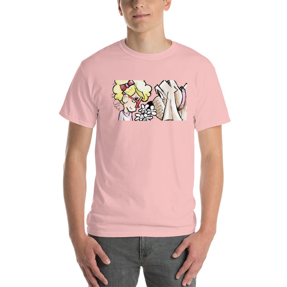 Girl and Her Hound Short-Sleeve T-Shirt - The Bloodhound Shop