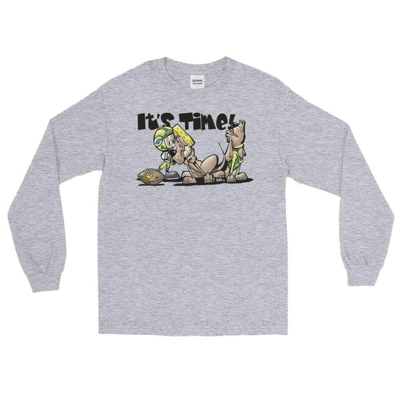 Football Hound Green Bay Long Sleeve T-Shirt - The Bloodhound Shop