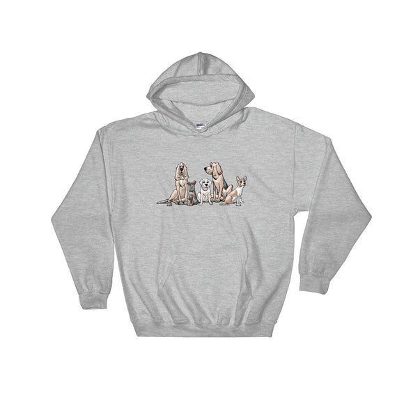Ines Collection Hooded Sweatshirt - The Bloodhound Shop