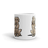 Hound and Bordeaux Mug - The Bloodhound Shop