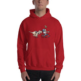 Football Hound Texans Hooded Sweatshirt - The Bloodhound Shop