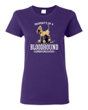 Property of a Hound Women's short sleeve t-shirt - The Bloodhound Shop
