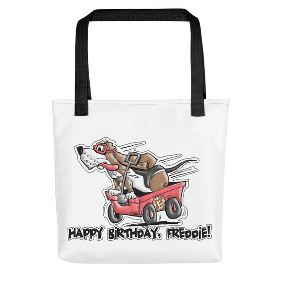 Tim's Wrecking Ball Crew Freddie's B-Day Tote bag - The Bloodhound Shop