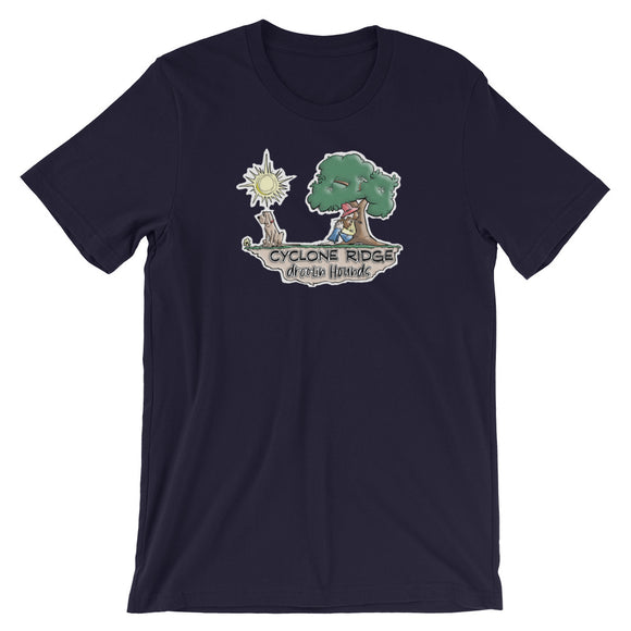 Cyclone Ridge Droolin Hounds Short-Sleeve Unisex T-Shirt - The Bloodhound Shop