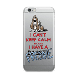 Tim's Keep Calm Freddie iPhone 5/5s/Se, 6/6s, 6/6s Plus Case