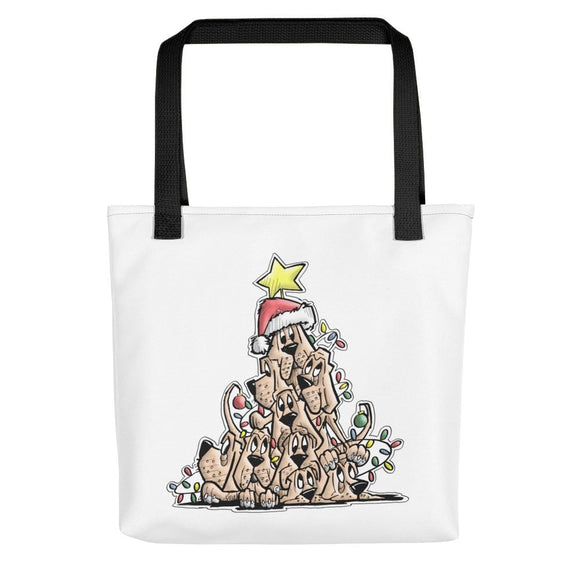 Christmas Tree Hound Tote bag - The Bloodhound Shop