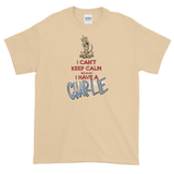 Tim's Keep Calm Charlie Dark Short sleeve t-shirt