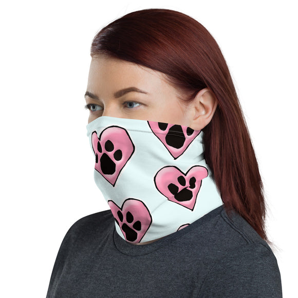Dog Heart FBC Mask Neck Gaiter