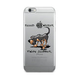 Blood is Thicker than Slobber iPhone 5/5s/Se, 6/6s, 6/6s Plus Case - The Bloodhound Shop