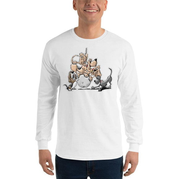 Tim's Wrecking Ball Crew No Names Long Sleeve T-Shirt | The Bloodhound Shop