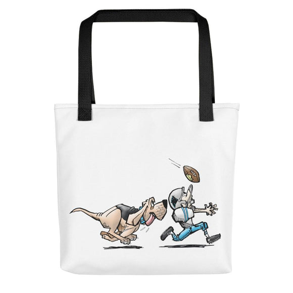Football Hound Panthers Tote bag - The Bloodhound Shop