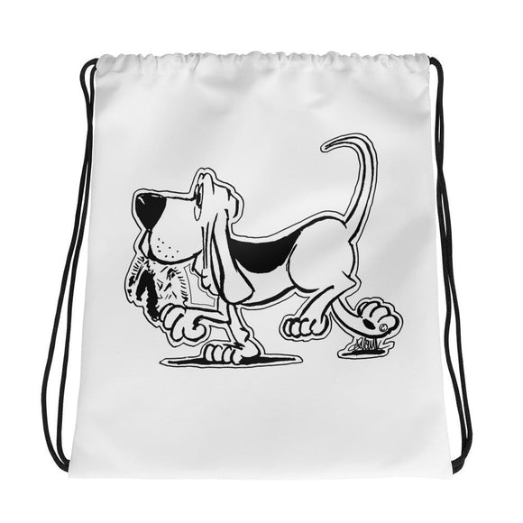 Retro Hound Drawstring bag - The Bloodhound Shop