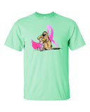 Breast Cancer Awareness Short sleeve t-shirt - The Bloodhound Shop