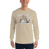 Tim's Wrecking Ball Crew w/ Names Long Sleeve T-Shirt - The Bloodhound Shop
