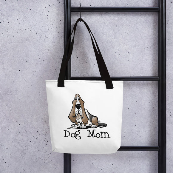 Basset- Dog Mom FBC Tote bag - The Bloodhound Shop