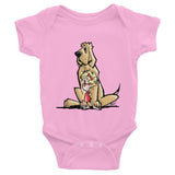 Emma & Molly 2 Infant short sleeve one-piece - The Bloodhound Shop