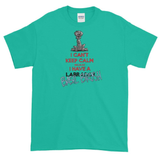 Tim's Keep Calm Basil Short sleeve t-shirt