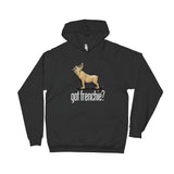 French Bulldog- Tan FBC Dark Hoodie - The Bloodhound Shop