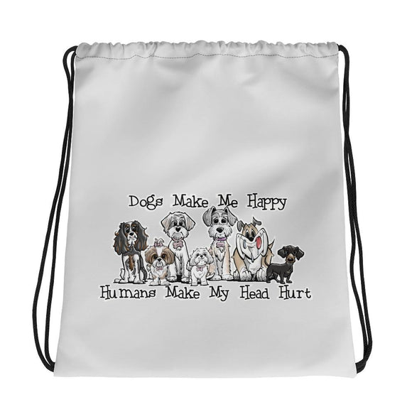 Happy Dogs FBC Drawstring bag