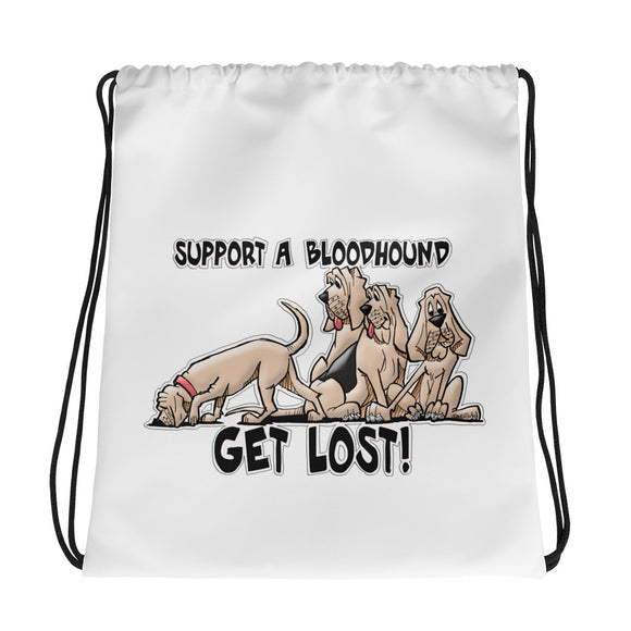 Get Lost 2019 Drawstring bag - The Bloodhound Shop