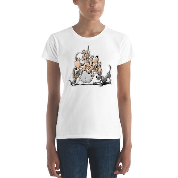 Tim's Wrecking Ball Crew No Names Women's short sleeve t-shirt | The Bloodhound Shop