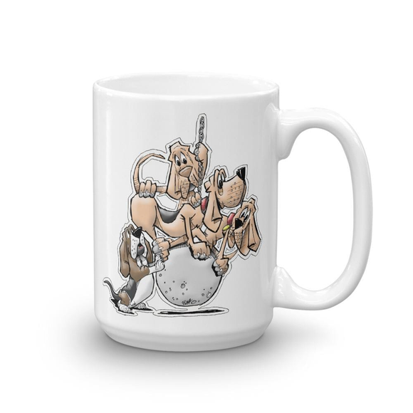 Tim's Wrecking Crew 4 No Names Mug - The Bloodhound Shop