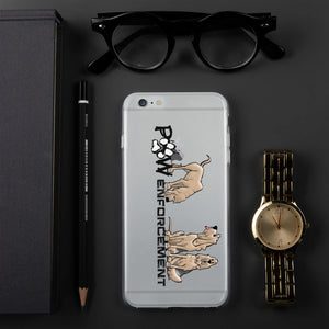Paw Enforcement iPhone Case | The Bloodhound Shop
