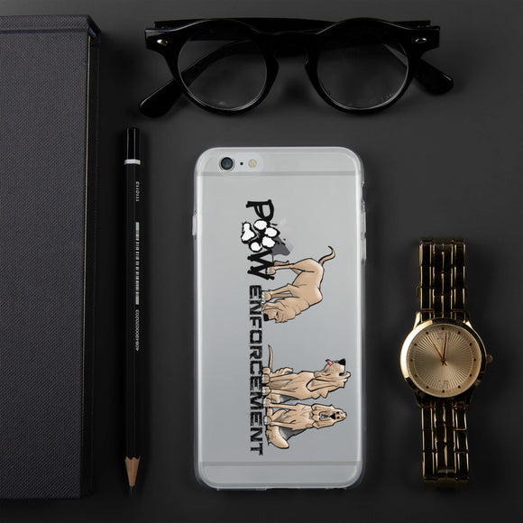 Paw Enforcement iPhone Case