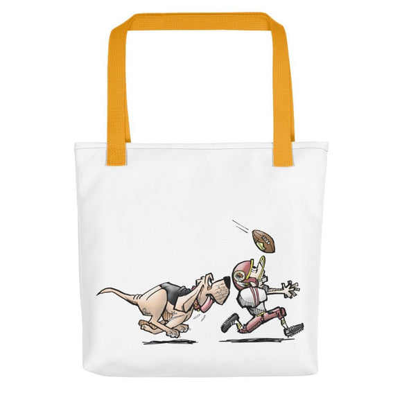 Football Hound Redskins Tote bag - The Bloodhound Shop