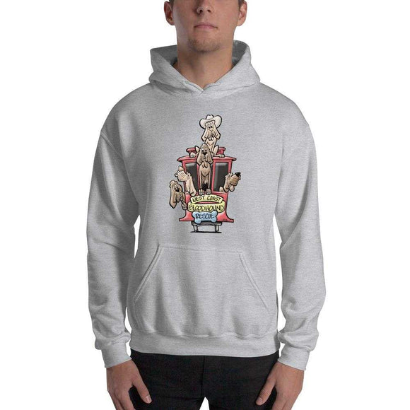 BH West Collection Hooded Sweatshirt - The Bloodhound Shop