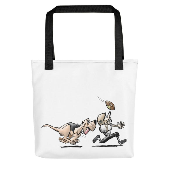 Football Hound Saints Tote bag - The Bloodhound Shop