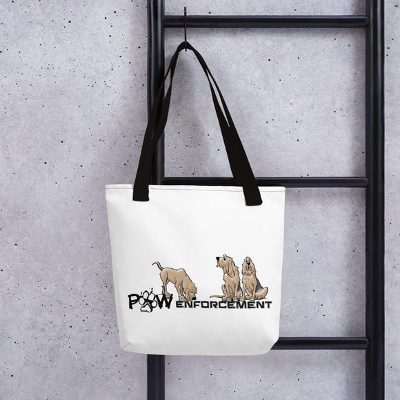 Paw Enforcement Tote bag - The Bloodhound Shop
