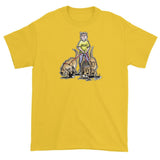 Three Rescue Hounds Short sleeve t-shirt - The Bloodhound Shop