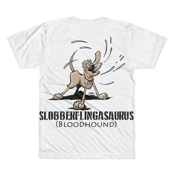 Slobberfingasuraus / Ink Slinger Adult All-Over Printed T-Shirt - The Bloodhound Shop
