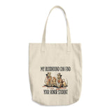 Honor Student Hound Cotton Tote Bag | The Bloodhound Shop