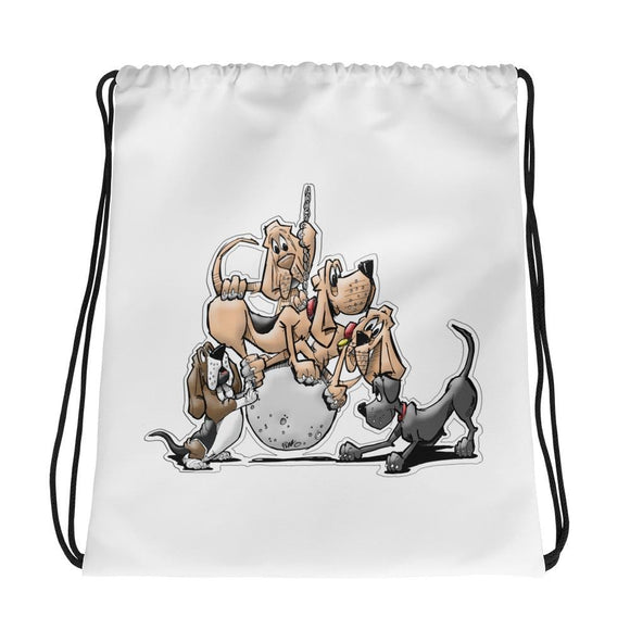 Tim's Wrecking Ball Crew 5 No Names Drawstring bag - The Bloodhound Shop