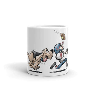 Football Hound Texans Mug - The Bloodhound Shop