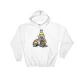 Three Rescue Hounds Hoodie