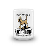 Property of a Bloodhound Mug - The Bloodhound Shop
