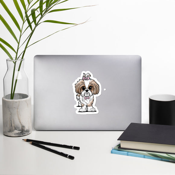 Shih Tzu- FBC Bubble-free stickers - The Bloodhound Shop