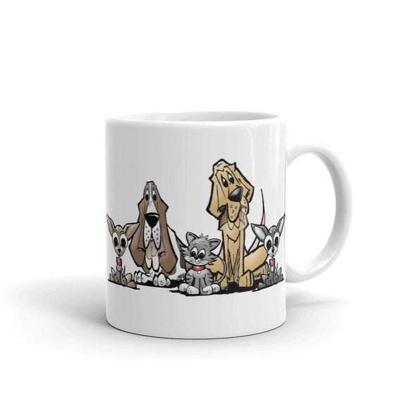 Blood is Thicker Lineup Mug - The Bloodhound Shop
