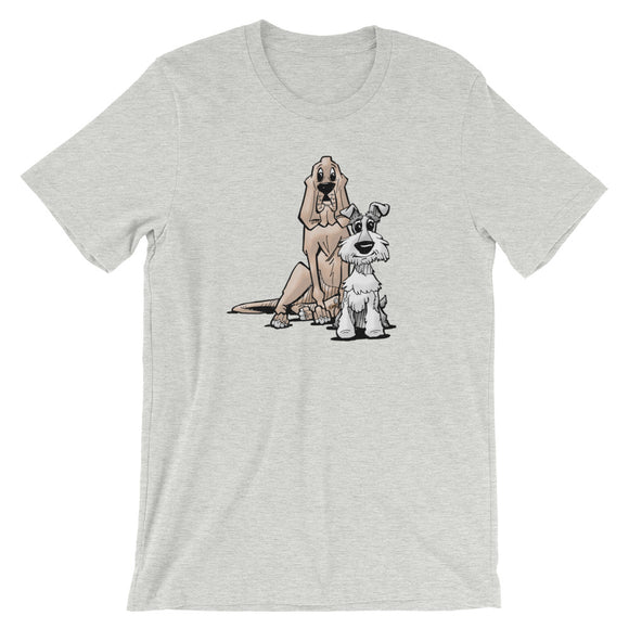 James Johnson Dogs Short-Sleeve Unisex T-Shirt - The Bloodhound Shop