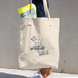 Tim's Got Charlie? Cotton Tote Bag - The Bloodhound Shop