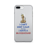 Keep Calm Hound iPhone 7/7 Plus Case - The Bloodhound Shop