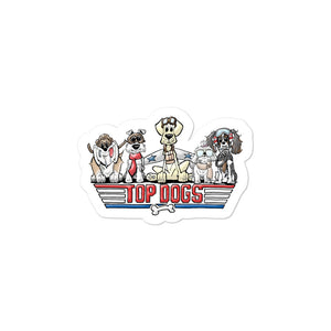 Top Dog FBC Bubble-free stickers