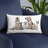 Ines Collection Basic Pillow - The Bloodhound Shop