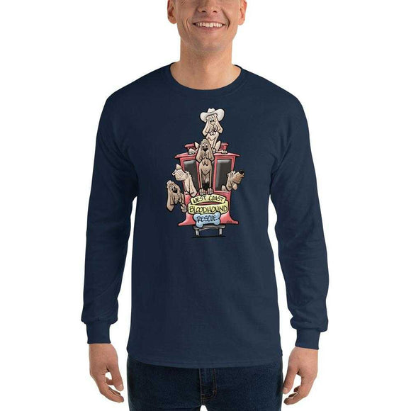 BH West Collection Long Sleeve T-Shirt | The Bloodhound Shop