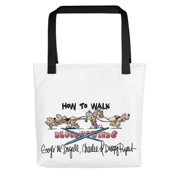 Tim's Google Hounds Walking Tote bag - The Bloodhound Shop