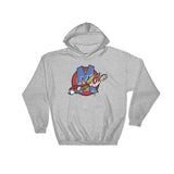 Max Superhero w/ Logo Hooded Sweatshirt - The Bloodhound Shop