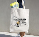Bloodhound Thing Tote bag - The Bloodhound Shop